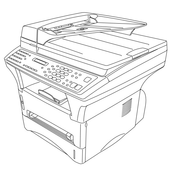 Brother Facsimile Equipment MFC9760 / MFC9860 / MFC9880 Parts Reference List
