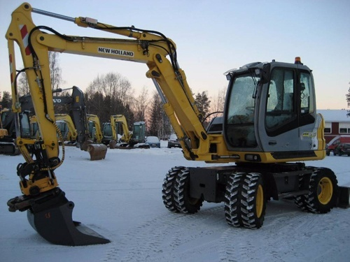 New Holland MH2.6 MH3.6 Tier3 Midi Wheel Excavators Service Repair Manual Download