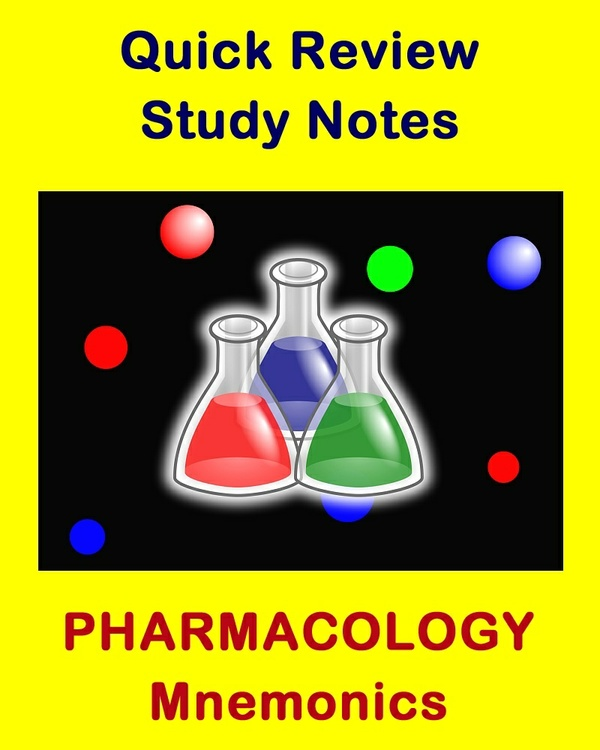 Pharmacology Mnemonics for Health Sciences Students and Professionals
