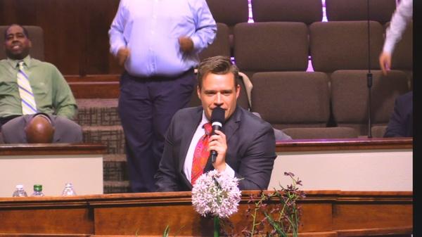 """Rev. Josh Herring 03-19-17pm """" While I Was Praying """" MP4"""