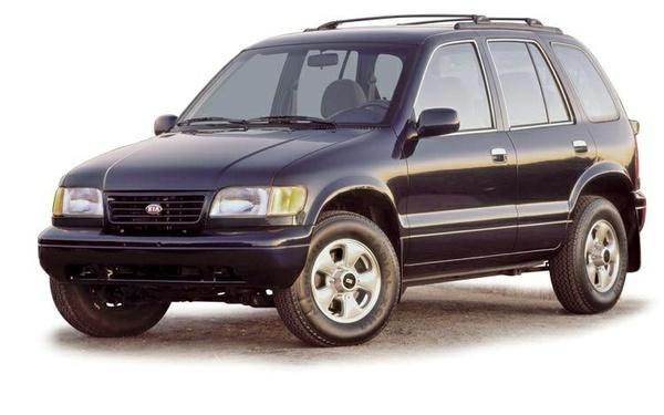 Kia Sportage workshop service manual models 1995-2002