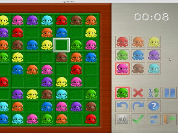 Squid Sudoku for Android - Ad-Free Premium Edition