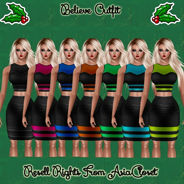Believe Outfits Catty Only!!!