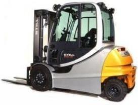 Still Forklift RX60-40, RX60-45, RX60-50: 6327, 6328, 6329, 6330, 6367, 6368, 6369 Operating Manual
