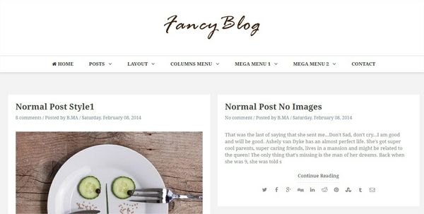 Fancy Responsive Blogger Templates