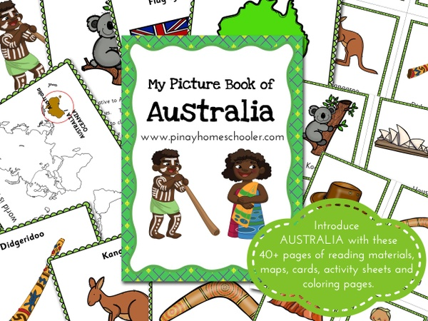AUSTRALIA:  Picture Book and Cards