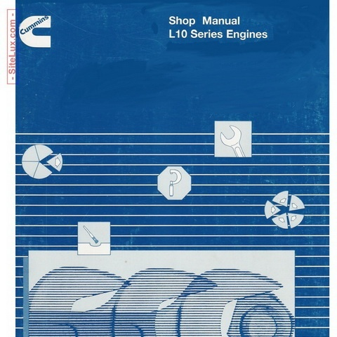 Cummins L10 Series Engines Shop Manual