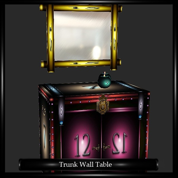 Trunk Wall Table Mesh