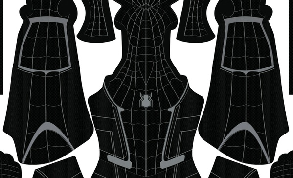 (FREE) Black Civil War Spider-Man pattern