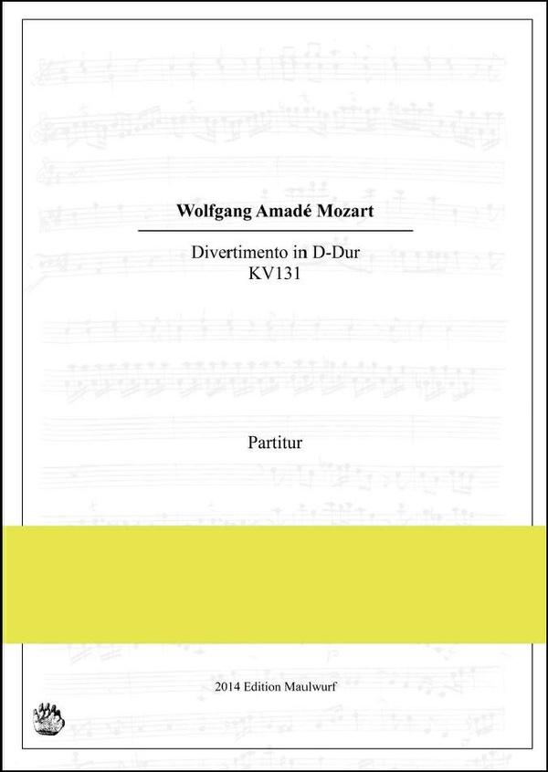 Mozart Divertimento KV131