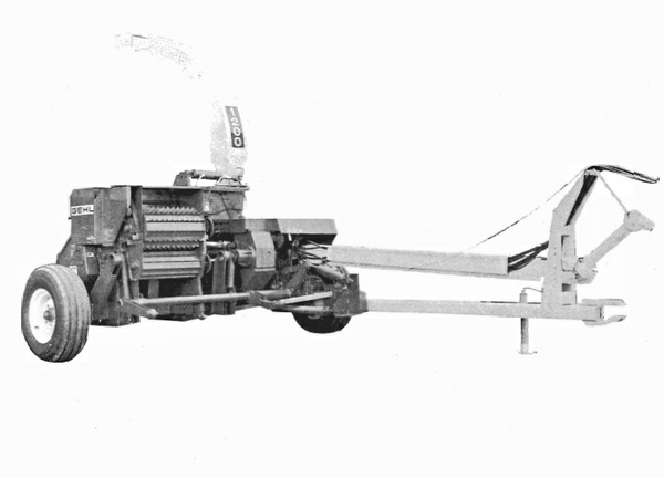 GEHL CB1200 Forage Harvester Parts Manual