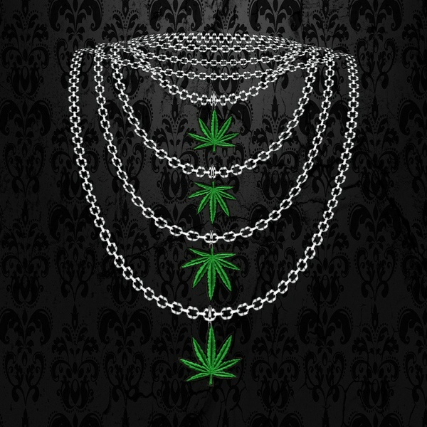 Female 4 x Weed Necklace - W/Resell Rights