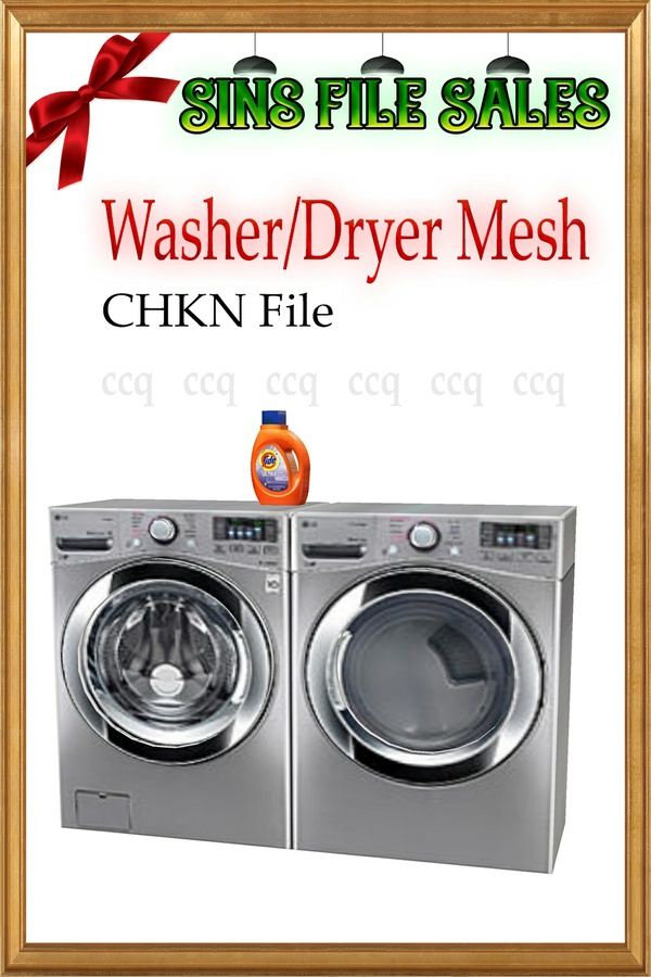 Washer/Dryer Set *Chkn