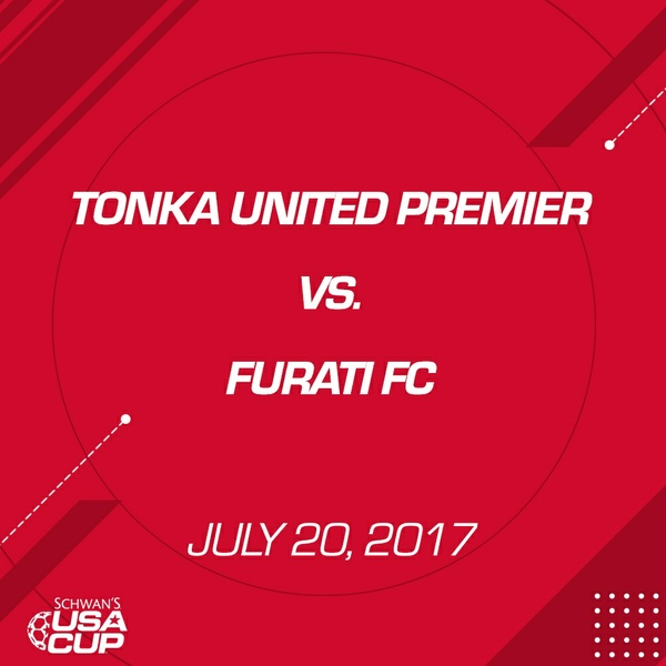 Boys U16 - July 20, 2017 - Tonka United Premier V. Furati FC