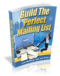 Building Perfect Mailing List (Including MRR)