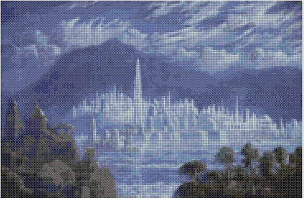 cross stitch pattern Mar-043c