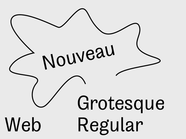 Nouveau Grotesque Regular Web 10.000 Pageviews