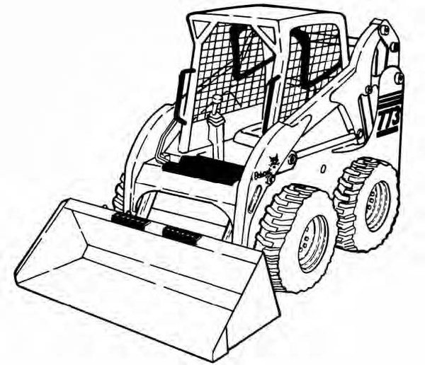 Bobcat 773 G Series Loader Service Repair Manual Download