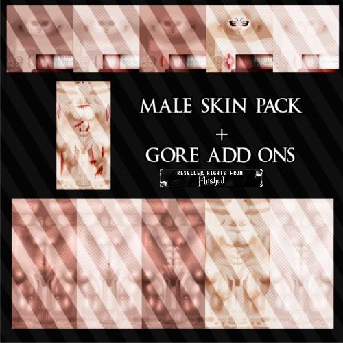 Male Skin Pack!