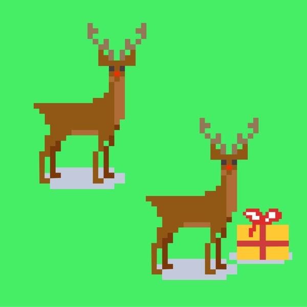 Pixel Rudolph