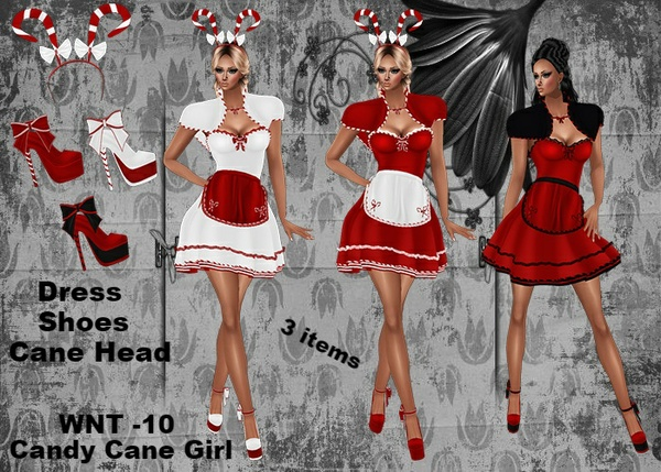WNT -10 Candy Cane Girl Bundle