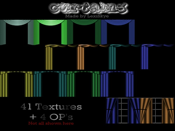 Curtains (4 Styles)