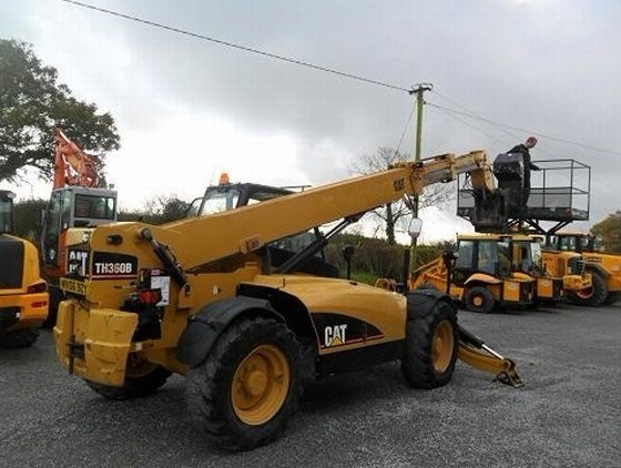 Caterpillar Cat TH360B Telehandler Operation and Maintenance Manual DOWNLOAD