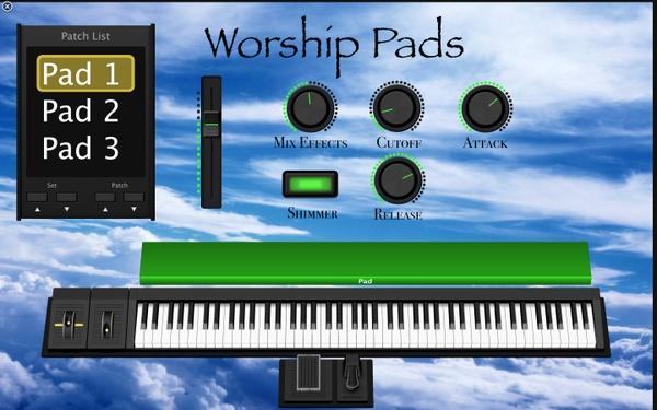 Worship pads