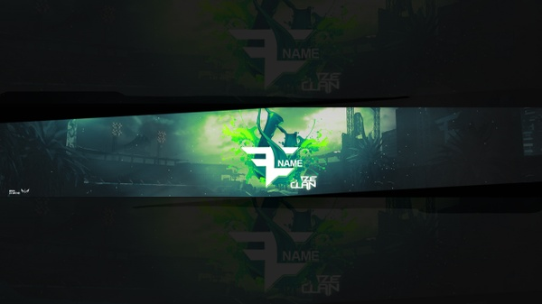 FREE YOUTUBE BANNER TEMPLATE (FAZE CLAN)