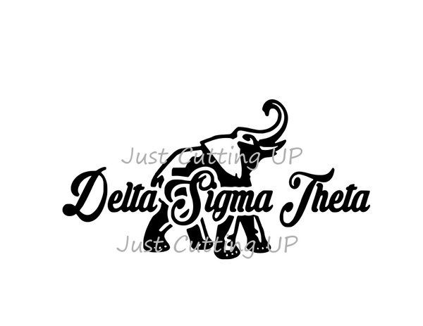 Delta Sigma Theta SVG - SVG ONLY