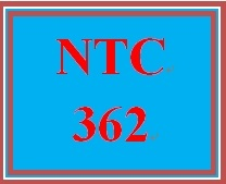 NTC 362 Week 4 Individual: Understanding Common Ports and Protocols