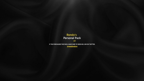 Rondo's Personal Pack v1
