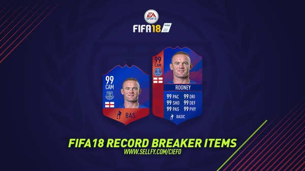 FIFA 18 RECORD BREAKER ITEMS