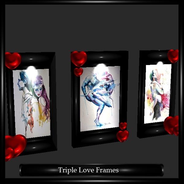 Triple Love Frames Mesh