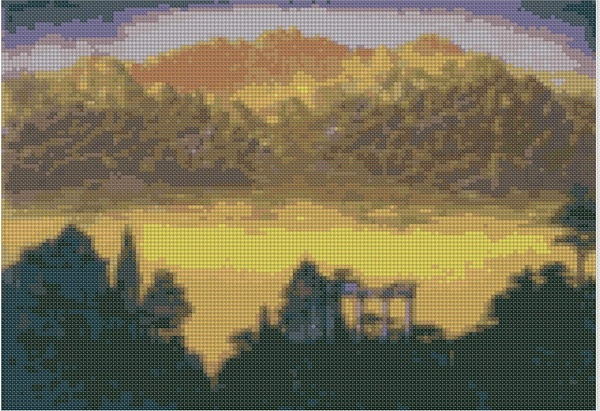 cross stitch pattern Mar-032c