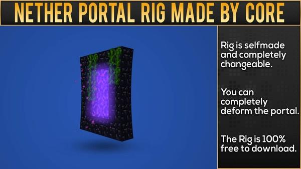 Nether Portal Rig