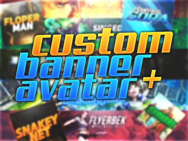 Custom Youtube Banner+Avatar