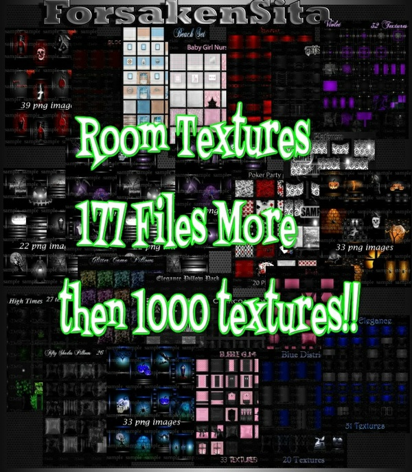177 Texture Files, Catty Only! 2 Peoples only 0/2