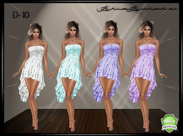 D-10 DRESSES, CHATTY ONLY!