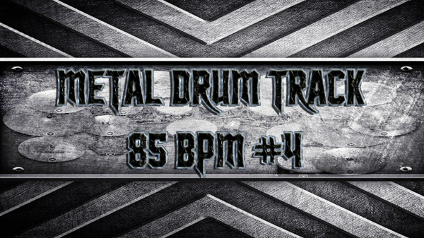 Metal Drum Track 85 BPM #4