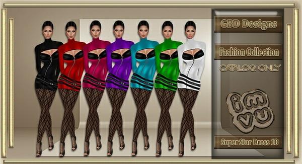 Super Star Dress 18 CATALOG ONLY!!