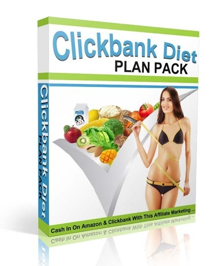New Clickbank Diet Plans Pack - RR