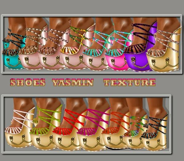 yasmin shoes texture