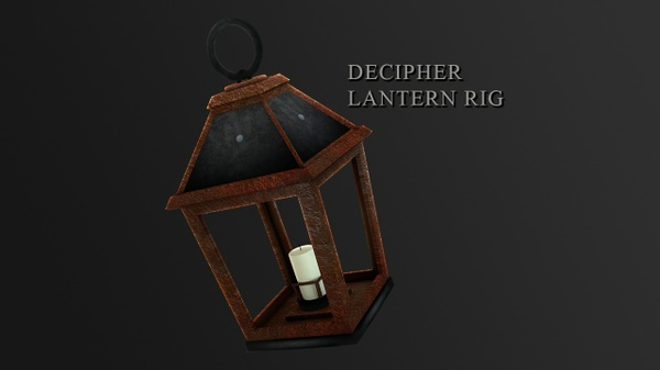 Decipher Lantern / Lamp Rig [FREE]