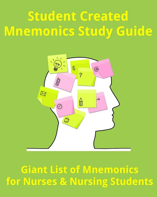 Mega List of Mnemonics for Nurses & Nursing Students (Quick Study Notes)