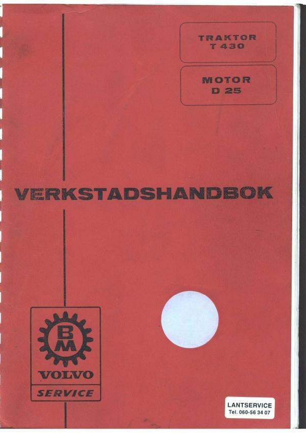 Volvo BM T430 verkstadshandbok - svenska - 228 sidor