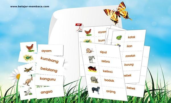 273 Kartu Kata (Bahasa Indonesia)