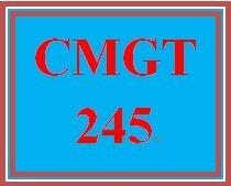 CMGT 245 Week 3 Individual Creating Secure Networks
