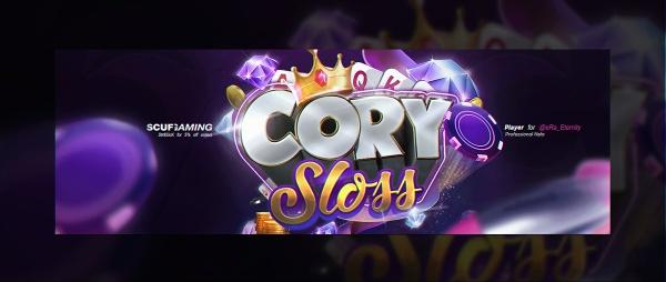 Header for eRa Cory Sloss | Template PSD File