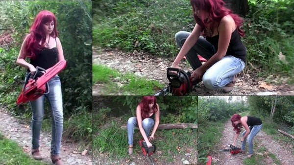 101 : Miss Melanie and the stubborn chainsaw